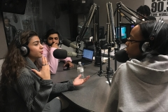 CCNY students roundtable discussion