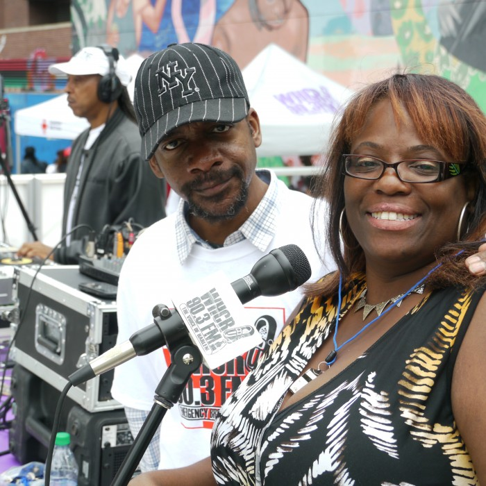 DJ Vince the Prince and Host Tina Dixon