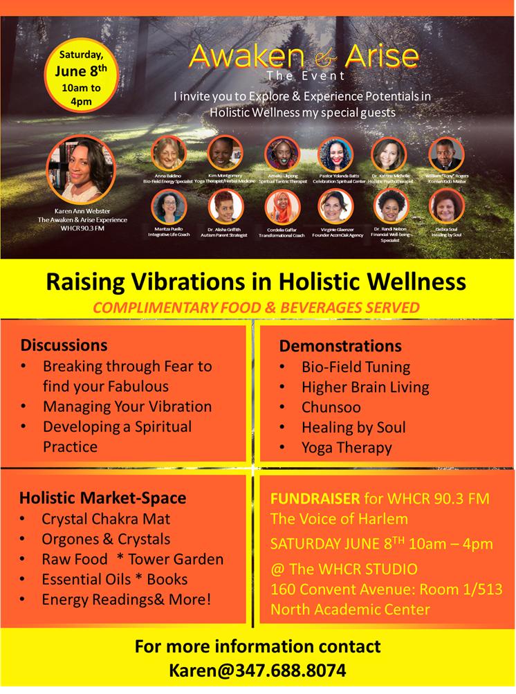 Awaken & Arise promotion